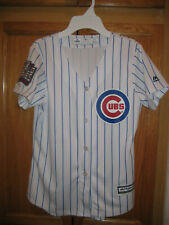 Chicago Cubs World Series Majestic Jersey Boys Size Small  (8-10).