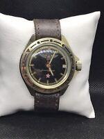 Komandirskie Vostok Men's Military Wristwatch Soviet 2409 USSR Watch Wostok