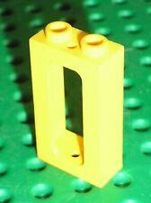 Fenetre jaune LEGO TRAIN yellow window ref 4035 / Set 7815 7740 740 7722 6266...