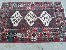 SPECTACULAR ANTIQUE HANDMADE PERSIAN RUG