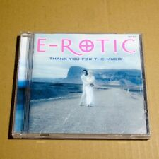 E-ROTIC - Thank You For The Music JAPAN CD TOCP-4074 Euro House #T03
