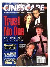 """CINESCAPE"" Movie/TV Magazine January 1996 FROM DUSK TILL DAWN, LAWNMOWER MAN"