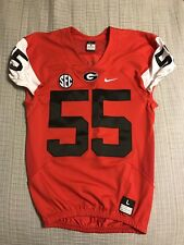 New listing Georgia Bulldog Nike Team Issued Jersey 2017 Men's Large Fromm  Swift cfd8ce180