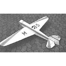 RC-Bauplan Messerschmidt M 35 Modellbau Modellbauplan