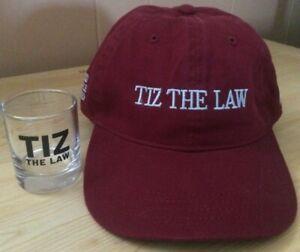 Tiz the Law hat - shot glass -2020 Belmont, Travers winner -no saddle cloth- new