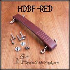 """Fender """"no logo"""" rubber amp handle with mounting hardware **RED**"""