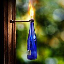 Tiki Torch Bottle Bracket Kit Garden Lighting Outdoor Oil Lantern Flame Torch