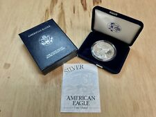 ~***PROOF*** 2000 P American Silver Eagle .999 with CoA & OGP (CC1309)