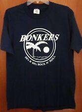 BONKERS vtg 1980s T shirt Toledo cover band Ohio sock-hop rock n roll Randy Monk