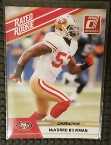 2010 Donruss NaVorro Bowman Rated Rookie San Francisco 49ers RC #78