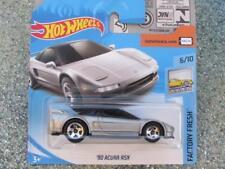 Hot Wheels 2018 #004/365 1990 ACURA NSX silver Factory Fresh