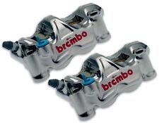 étriers de frein RADIALS BREMBO GP4 RX CNC P4 32/32 NICKEL pour SUZUKI GSX-R 600