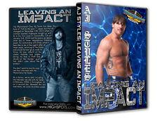 AJ Styles Leaving an Impact Shoot Interview DVD, TNA Wrestling Pro PWG CZW NJPW