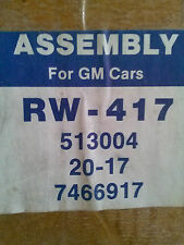 Assembly GM Cars RW-417 513004 ----  20-17 ---- 7466917