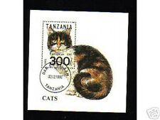 0218++TANZANIE  BLOC  CHAT  1992