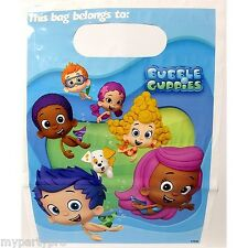 BUBBLE GUPPIES BIRTHDAY PARTY supplies (TREAT BAGS) FREE SHIPPING