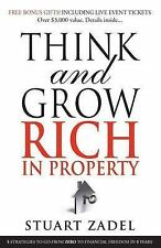 Think and Grow Rich in Property By Stuart Zadel Book