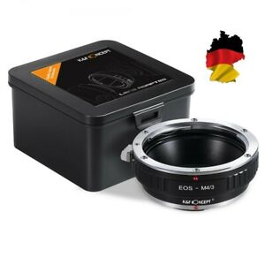 K&F Concept Adapter EOS - M4/3 For Canon EF Lens On M43 Mft Mount Camera