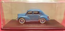 1/43 Norev 1957 HINO RENAULT BLUE diecast car model NEW