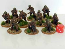 28mm Bolt Action Chain Of Command Soviet Infantry Painted 10 Figures R3