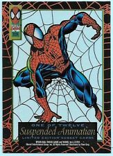 1994 Amazing Spider-Man Suspended Animation Chase Card # 1 Spider-Man