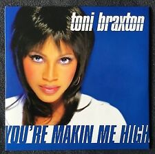 Toni Braxton CD Single You're Makin' Me High - Europe (EX+/EX+)