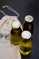 Olive oil organic extra virgin 3 bottles 330ml each from jerusalem
