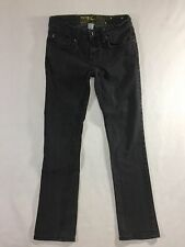 ANALOG Jeans Boy's 28x30 Skinny black fade denim stretch pant skate custom jeans