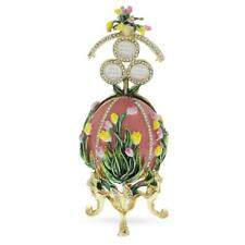 1898 Lilies of the Valley Royal Russian Egg in Pink