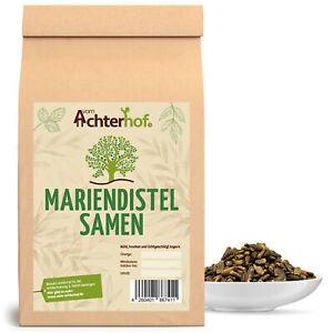 1 kg Mariendistelsamen - enthält Silymarin - auch für Pferde  Leberunterstützend