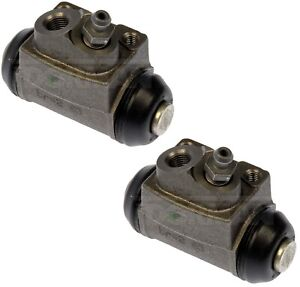 2 Drum Brake Wheel Cylinders Rear L/R FORD Focus 00-09 & MERKUR XR4Ti 85-89