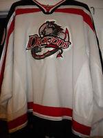 LNAH AHL ECHL UHL 2005-06 VERDUN DRAGONS GAME WORN MICHEL MASSIE HOCKEY JERSEY