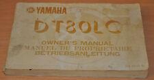 BA Betriebsanleitung Bedienungsanleitung YAMAHA DT80LC Owner´s Manual 1983
