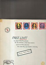 FREE - live LP envelope cover