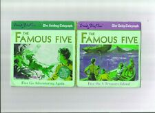 THE FAMOUS FIVE AUDIO BOOK SET OF TWO CDs FROM THE DAILY TELEGRAPH SERIES