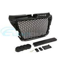 Audi RS3 Style Grille for A3 / S3 8P Facelift Gloss Black Finish