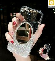 Soft Silicone Cover Phone Cases Glitter Mirror Cases For Apple 6 s 6s 7 8 Plus