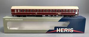 H0 - HERIS (DC)--11013...DB TEN Schlafwagen...LED + Figuren...OVP   / 3 E 625