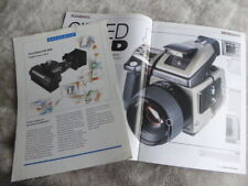 original Hasselblad DB 4000 digital camera back sales leaflet c1991 and Hass H1