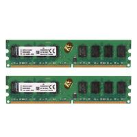 New For  4GB 2x2GB PC2-6400 DDR2 800MHz 240pin DIMM Desktop Memory RAM