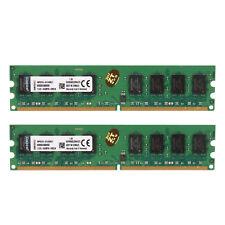 For Kingston 4GB 2X2GB PC2-6400 DDR2 800MHz 240pin DIMM Desktop Memory RAM RHN02