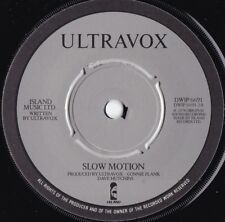 Ultravox ORIG UK 45 Slow motion EX '78 Island DWIP6691 Post Punk New wave