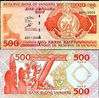 VANUATU 500 VATU ND 2011 P 5 UNC