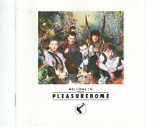 CD FRANKIE GOES TO HOLLYWOOD	welcome to the pleasuredome	GERMAN EX+ (A1245)