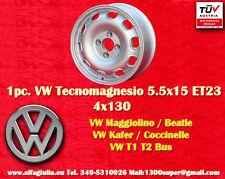 1 Cerchio Volkswagen 5.5x15 Coccinelle Maggiolino Käfer T1 T2 1 Wheel1 Felge TUV