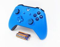 Official Microsoft Xbox One S Wireless Controller - Blue WL3-00018