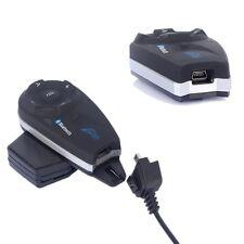 V5-1200M BT Bluetooth Interphone 2 voies Casque de Moto Helmet Intercom Wireles