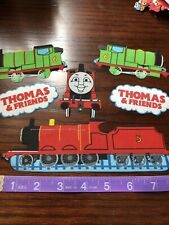 Thomas the Train Tank Engine  Fabric Iron On Appliques style #1