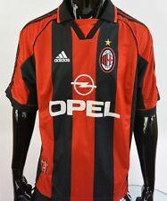 1998-2000 adidas AC Milan Home Shirt Football Jersey SIZE L (adults)