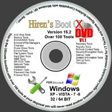 BOOT DISC ON DVD FOR WINDOWS XP VISTA 7 8 8.1 10 TO FIX & REPAIR Updated Version